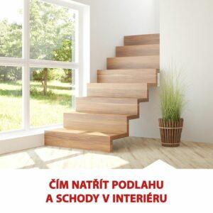 Nenechávejte úpravy interiéru na zimu. Hotové je máte raz dva. Jak a čím nalakovat podlahu a schody v interiéru čtěte na www.col…