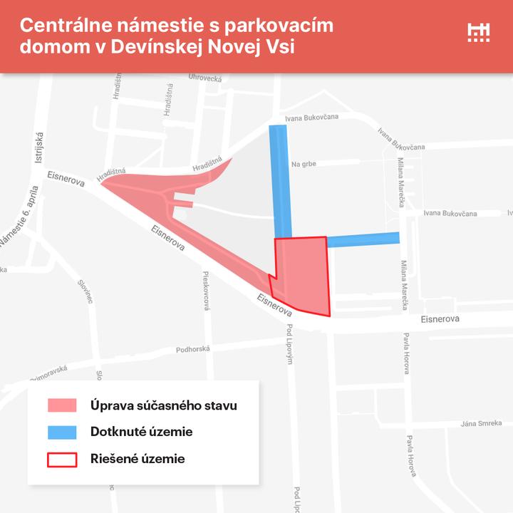 🗣️ Pomôžete nám s tvorbou zadania pre architektov pre nové centrálne námestie s parkovacím domom v Devínskej Novej Vsi  V Devíns…