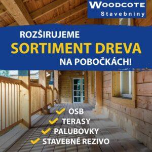 Príďte si nakúpiť drevo do Woodcote!👍💯 Skladom ihneď k odberu ponúkame – OSB, palubovky, terasy, stavebné rezivo: https://www.wo…