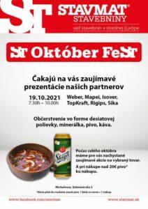 ST Október FeST Michalovce 🍻 Nezmeškajte zaujímavé akcie a prezentácie v rámci mesiaca október! 😊 Viac info na: https://www.stav…