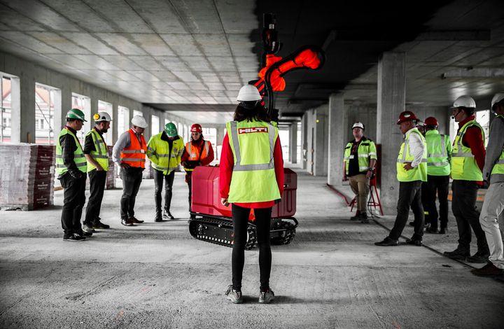 Roboty na stavbe sú realitou už aj v strednej Európe!