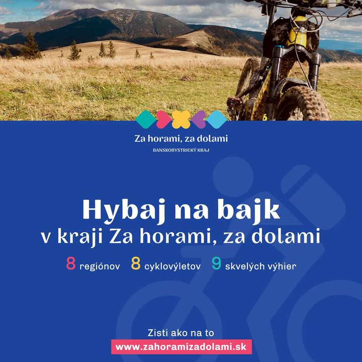 HYBAJ NA BAJK! 🚲  Aj na jeseň môžete vyraziť na cyklovýlet. Ak sa vyberiete do banskobystrického kraja, zvoľte si jednu z 8 vybr…